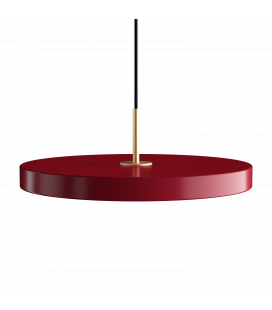 Suspension Asteria Rouge Rubis 43cm Umage