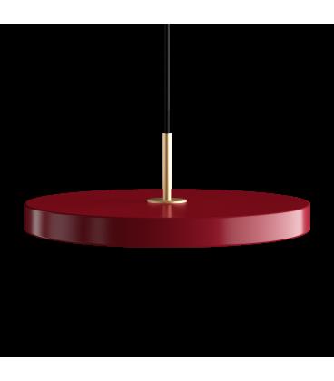 Suspension Asteria Rouge Rubis 43cm Umage