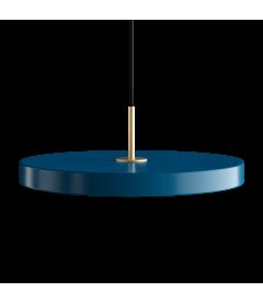 Suspension Asteria Bleu Pétrole 43cm Umage
