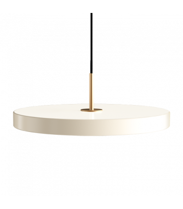Suspension Asteria Blanc Perle 43cm Umage