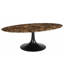 Table Basse Dalvik Marbre Brun Athezza