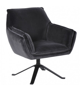 Fauteuil Coventry Gris Tourmente Athezza