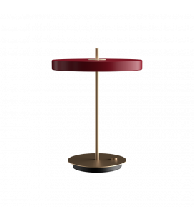Lampe Table Asteria Rouge Rubis