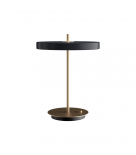 Lampe Table Asteria Gris Anthracite