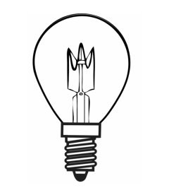 Ampoule LED 4W Vintage Dimmable H143mm