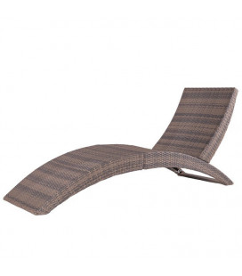 Chaise Longue Marlene Taupe - Outdoor