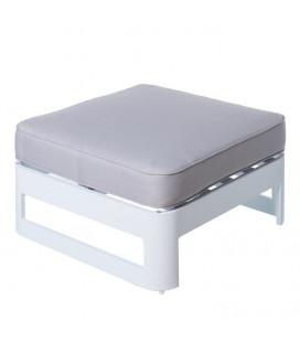Table Pouf Aisha Blanc