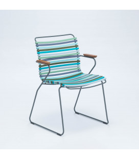 Chaise Accoudoirs Bambou Click Forêt
