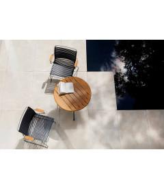 Chaise Accoudoirs Bambou Click Noir
