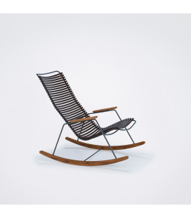 Rocking Chair Click Outdoor Marron