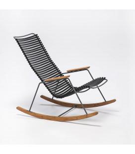 Rocking Chair Click Outdoor Noir