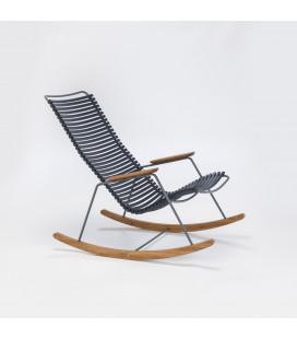 Rocking Chair Click Outdoor Bleu Foncé