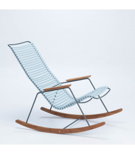 Rocking Chair Click Outdoor Bleu Ciel