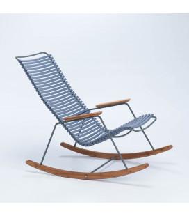 Rocking Chair Click Outdoor Bleu Clair