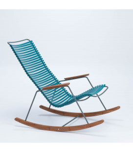 Rocking Chair Click Outdoor Pétrole