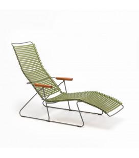 Chaise Longue Click Vert Olive