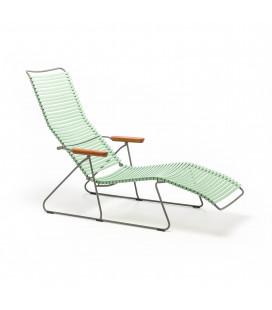 Chaise Longue Click Vert