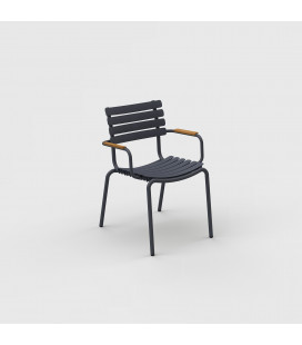 Chaise Reclips Bambou Gris