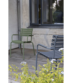 Chaise Reclips Vert Olive