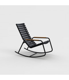 Rocking Chair Reclips Noir