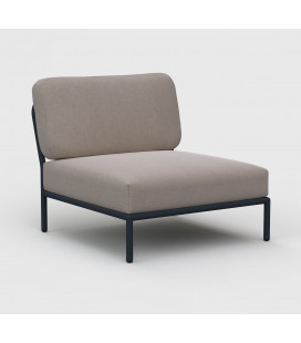 Fauteuil Level Cendre Modulable Outdoor