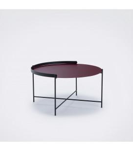 Table Basse Edge Ø76cm 4 Coloris Outdoor