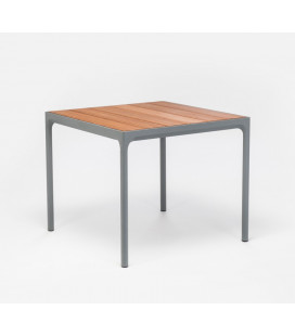 Table Four Gris Bambou 90cm Outdoor