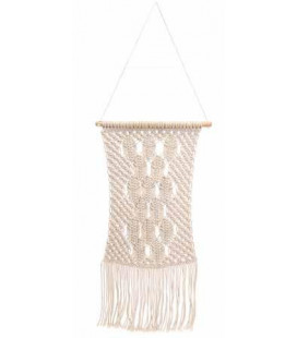 Decoration Murale Macrame Gm