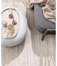 Table Basse Pebble Blanc 65cm Outdoor