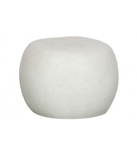 Table Basse Pebble Blanc 65cm Outdoor