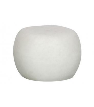 Table Basse Pebble Blanc 50cm Outdoor