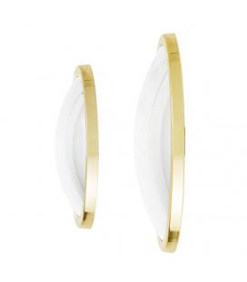 Lot de 2 Miroirs Sorcière Kawar Gold