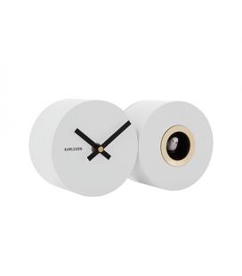 Horloge Murale Coucou Karlsson Blanc