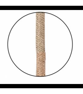 Câble pour Suspension en corde et Douille Métal Laiton Doré (D.5xH.110cm)