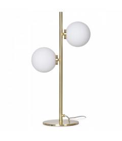 Lampe 2 Globes Edmond Dorée