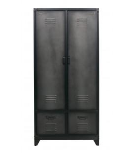 Vestiaire Locker Acier Noir