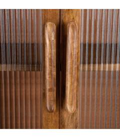 Vitrine Bois Manguier 140cm
