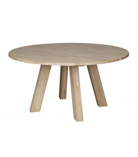 Table à Manger Rhonda Ø150cm en Chêne