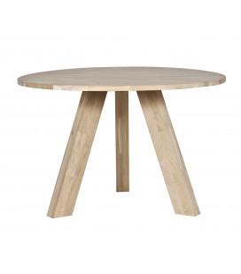 Table à Manger Rhonda Ø130cm en Chêne