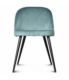 Chaise Ingrid Bleu Vert Artic