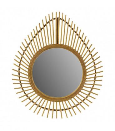 Miroir Bambou Larme
