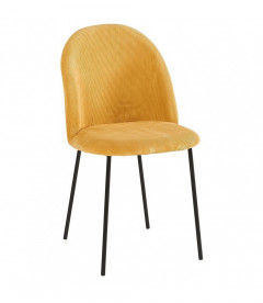 Chaise Abba Moutarde
