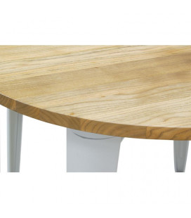 Table industrielle Ø90 cm