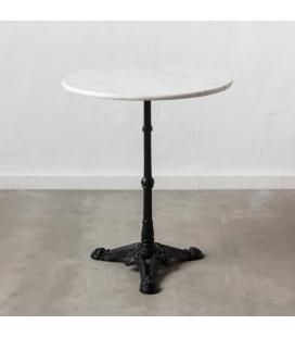 Table Bistrot Marbre Noir