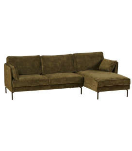 Canapé d'Angle Moven Kaki