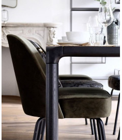 Chaise Vogue Onyx