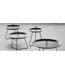 Table Basse Eyelet Ø60cm Noir Outdoor