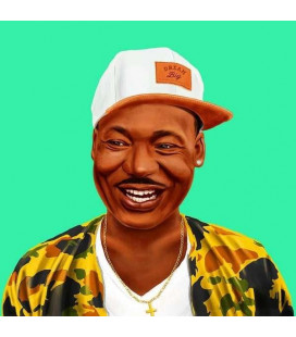 Tableau XXL Martin Luther King par Amit Shimoni
