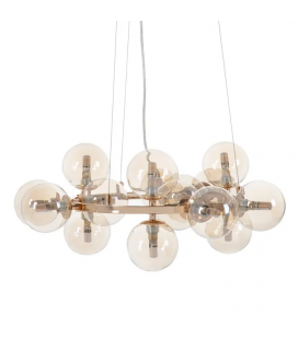 Suspension Bullit 15 Globes 58 cm