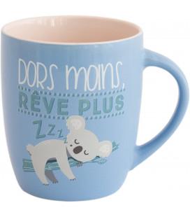 Mug - Dors Moins, rêve Plus